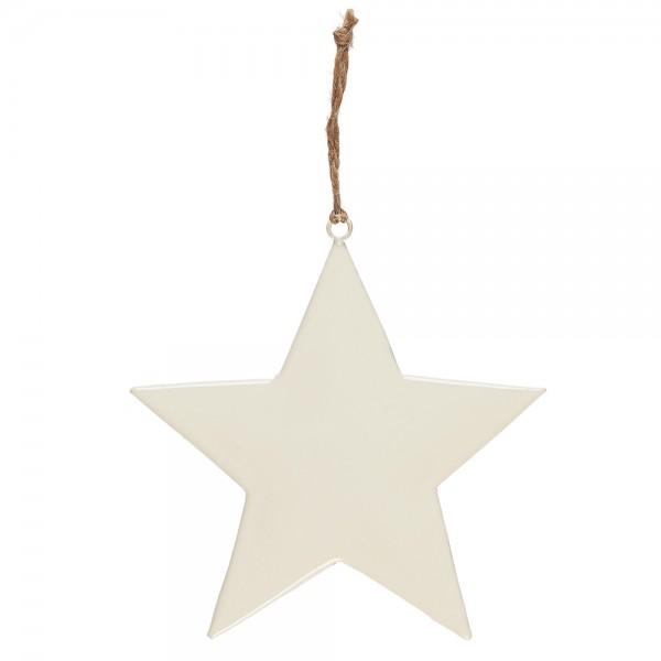 Stern Weiß zum aufhängen Medium von Ib Laursen