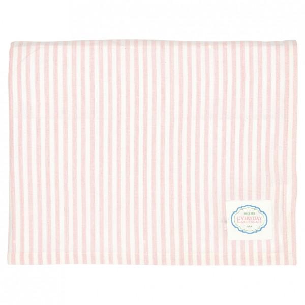 Tischdecke Alice stripe pale pink von Greengate