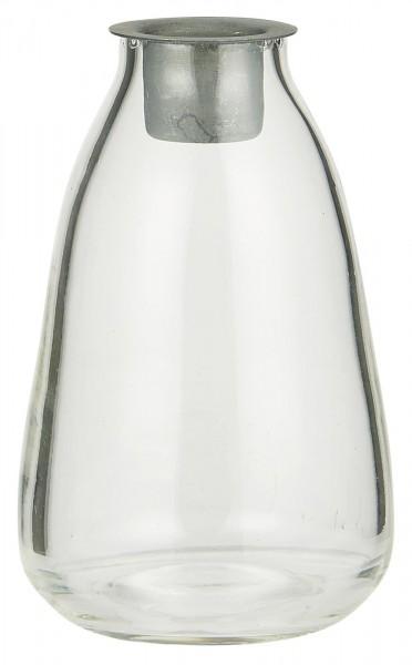 Flasche mit losem Kerzeneinsatz für Stabkerze