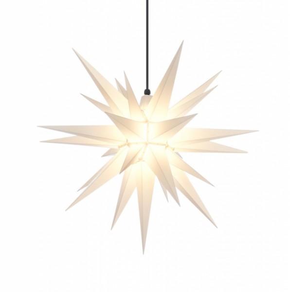 Herrnhuter Stern A7 weiß, 68 cm, für den Innen- und Außenbereich