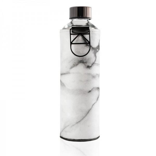 Mismatch Stone, Glasflasche mit Kunstlederhülle,