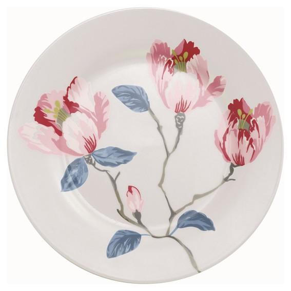 Plate Magnolia white von Greengate