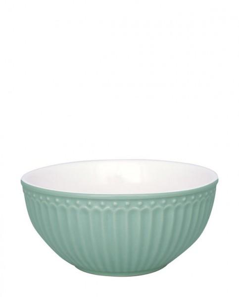 Greengate Schale Alice dusty mint