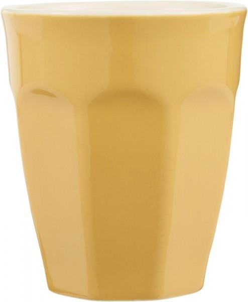 Cafe Latte Becher Mynte Mustard