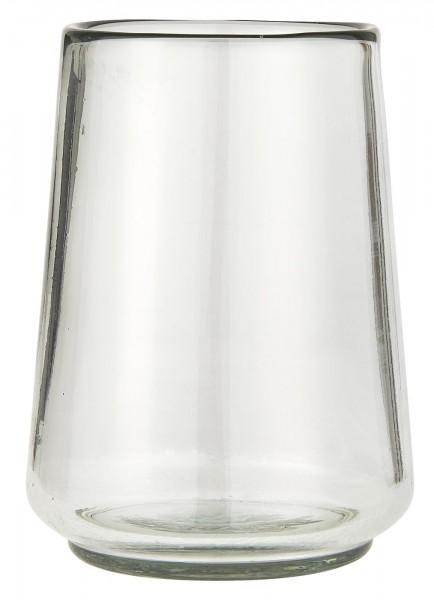 Vase konisch mundgeblasen von Ib Laursen