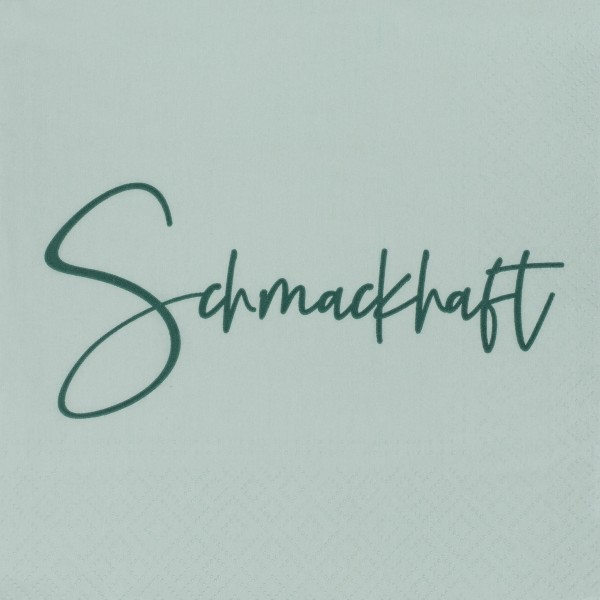 DINING Serviette Schmackhaft