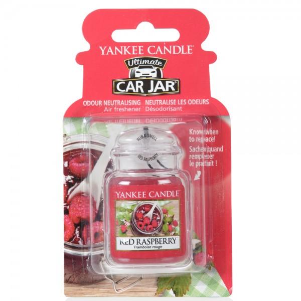 Yankee Candle, Ultimate Car Jar, Red Raspberry