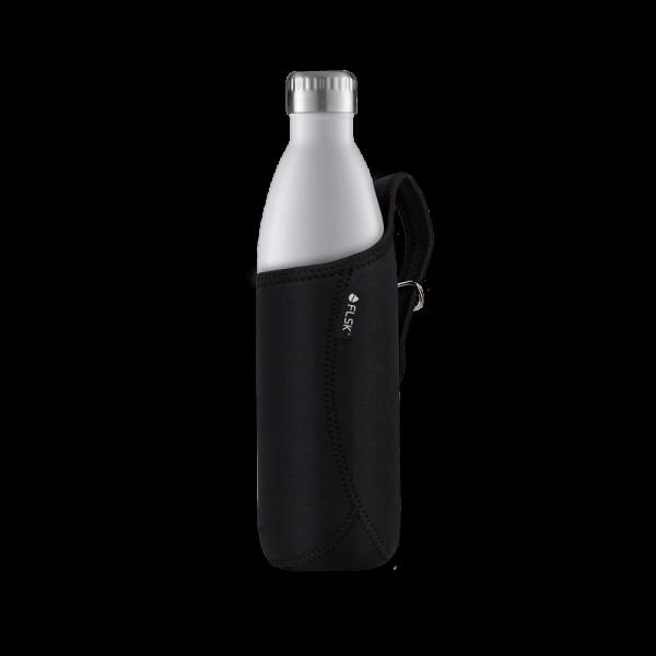 FLSK Neoprentasche für 1000 ml Isolierflasche, schwarz