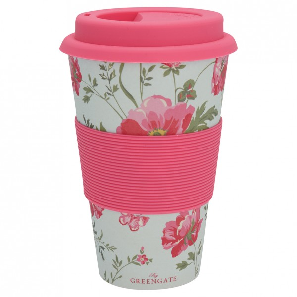 Travel mug/Thermobecher Meadow pale blue von Greengate