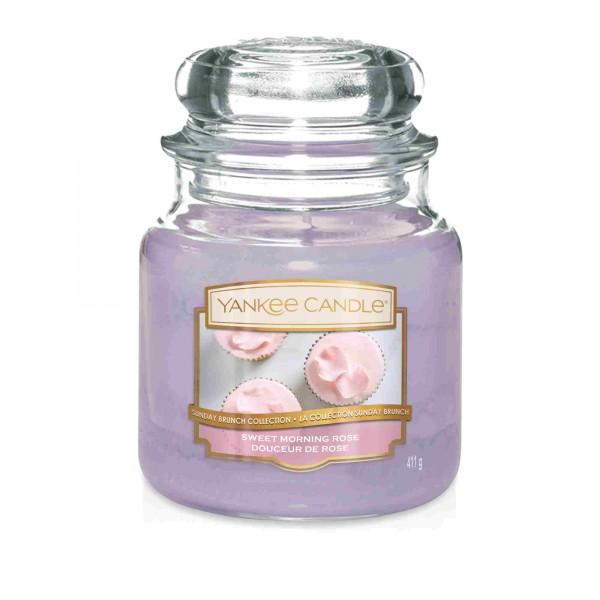 Sweet Morning Rose Yankee Candle